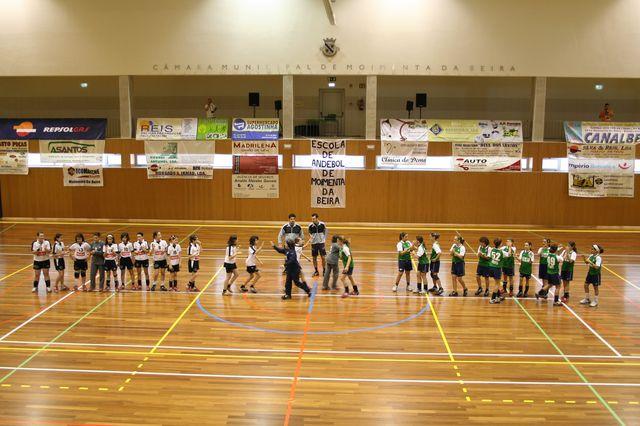 Fase Final Infantis Femininos, 7 a 10.06.2008 - AD Sanjoanense : CDB Perestrelo 3