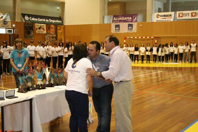 Fase Final Infantis Femininos, 7 a 10.06.2008 - Entrega de Prémios 19
