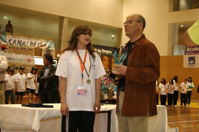 Fase Final Infantis Femininos, 7 a 10.06.2008 - Entrega de Prémios 22