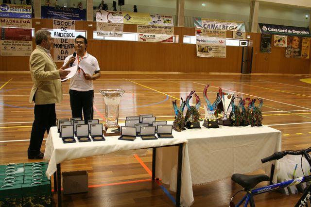 Fase Final Infantis Femininos, 7 a 10.06.2008 - Entrega de Prémios 5