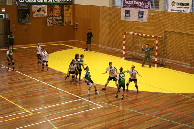 Fase Final Infantis Femininos, 7 a 10.06.2008 - AD Sanjoanense : CDB Perestrelo 10