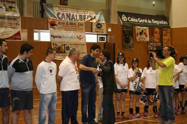 Fase Final Infantis Femininos, 7 a 10.06.2008 - Entrega de Prémios 16