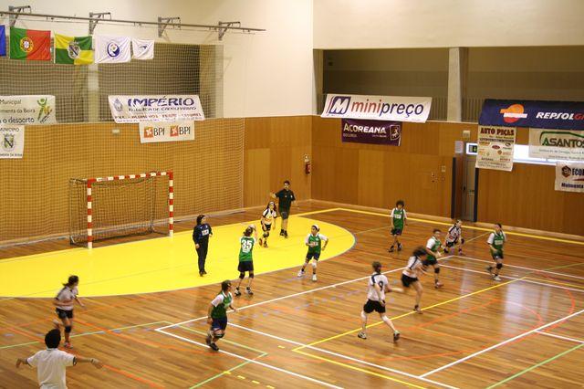 Fase Final Infantis Femininos, 7 a 10.06.2008 - AD Sanjoanense : CDB Perestrelo 8