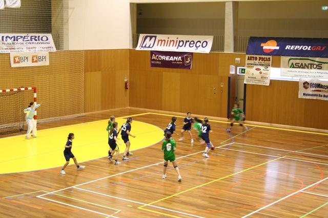 Fase Final Infantis Femininos, 7 a 10.06.2008 - CA Leça : JAC-Alcanena 12