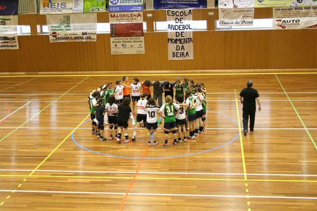 Fase Final Infantis Femininos, 7 a 10.06.2008 - AD Sanjoanense : CDB Perestrelo 11