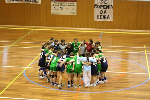 Fase Final Infantis Femininos, 7 a 10.06.2008 - CA Leça : JAC-Alcanena 16