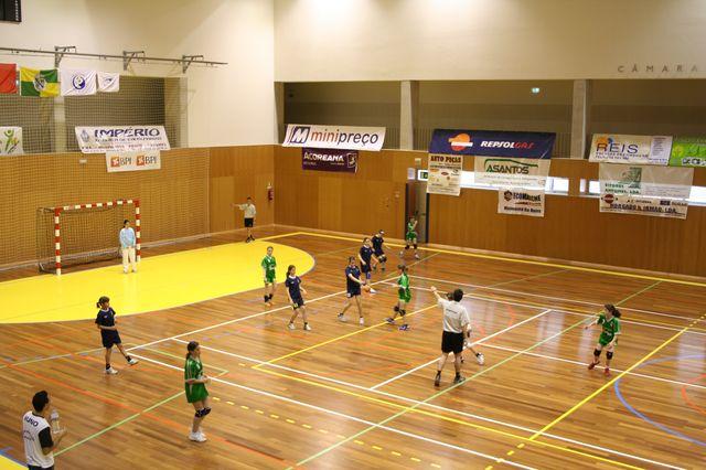 Fase Final Infantis Femininos, 7 a 10.06.2008 - CA Leça : JAC-Alcanena 9