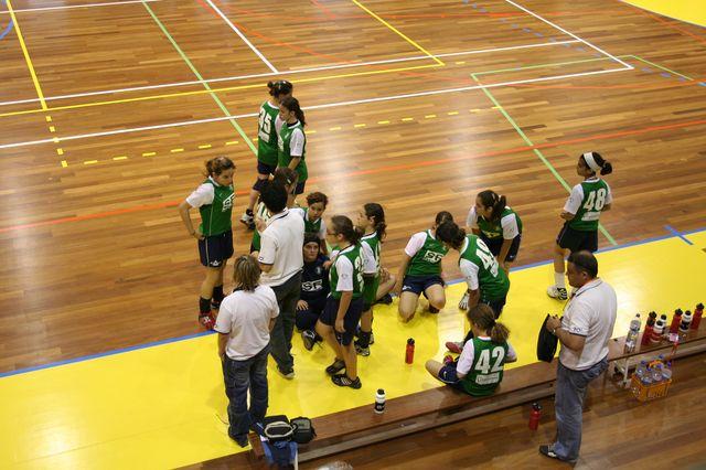 Fase Final Infantis Femininos, 7 a 10.06.2008 - AD Sanjoanense : CDB Perestrelo 2