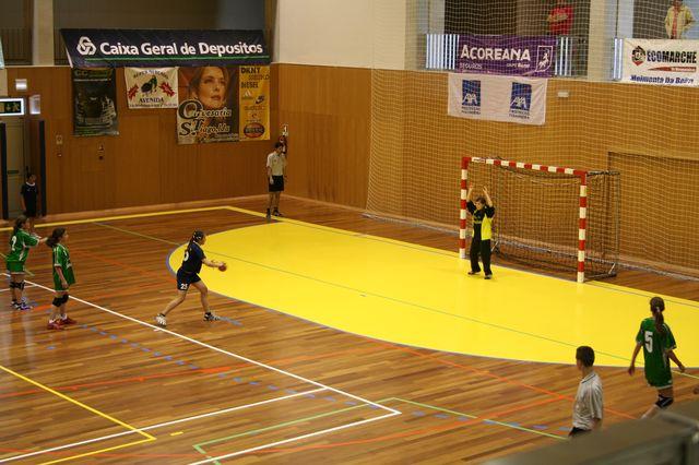Fase Final Infantis Femininos, 7 a 10.06.2008 - CA Leça : JAC-Alcanena 13