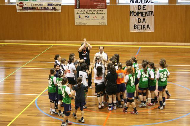 Fase Final Infantis Femininos, 7 a 10.06.2008 - AD Sanjoanense : CDB Perestrelo 12