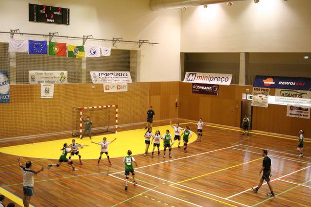 Fase Final Infantis Femininos, 7 a 10.06.2008 - AD Sanjoanense : CDB Perestrelo 6