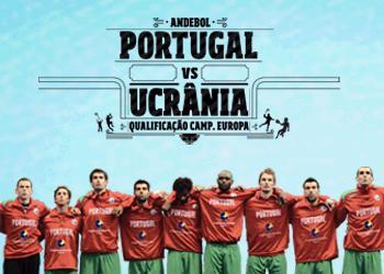 Cartaz Portugal : Ucrânia - qualificação Euro2012 - 09.03.2011, Moimenta da Beira