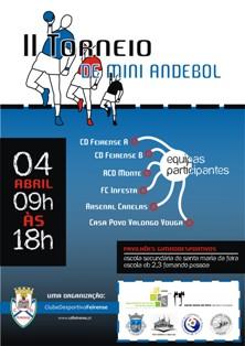 II Torneio de Mini Andebol - Páscoa 2009