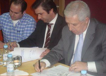 Assinatura Protocolo de Parceria Federação - Câmara Municipal de Pinhel