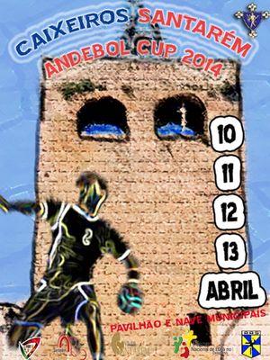 Cartaz Caixeiros Cup 2014
