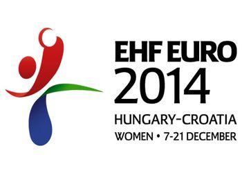 Logo Campeonato da Europa Seniores Femininos Hungria-Croácia 2014