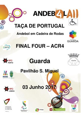 Cartaz Final Four Taça de Portugal ACR4