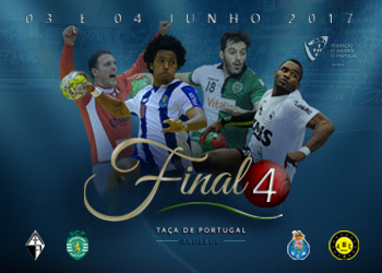 Cartaz Final4 Taça de Portugal Seniores Masculinos