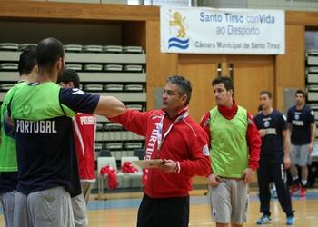 Seleção Sénior (M) - Treino 1 em Santo Tirso - 27.03.2013