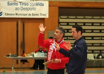 Rolando Freitas e Luís Monteiro - Treino Sele.Nacional Sénior (M) - 27.03.2013