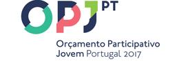 Logo Orçamento Participativo Jovem Portugal