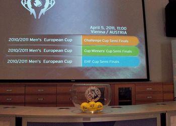 Sorteio meias-finais competições europeias