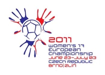Logo Campeonato Europa Sub-17 Femininos Rep. Checa 2011
