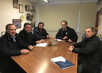 Assinatura de protocolo - FAP, AAB e Vila Verde Atlético Clube