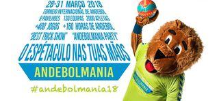Banner Andebolmania 2018 - XVI Torneio Internacional Andebol