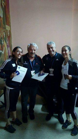 Marta Sá e Vânia Sá - primeira dupla feminina da IHF