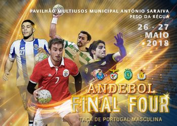 Cartaz Final Four Taça de Portugal Seniores Masculinos 2017-2018