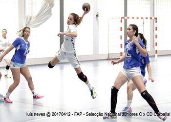 Juniores C Femininas : CD Carballal - Torneio Andebolmania
