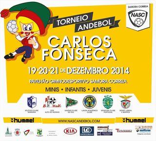 Cartaz Torneio Carlos Fonseca 2014