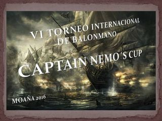 Cartaz Captain Nemo´s Cup 2016