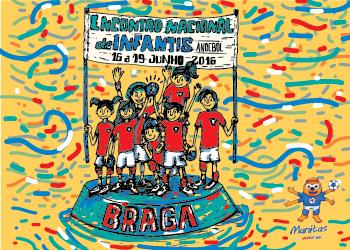 Cartaz Encontro Nacional de Infantis