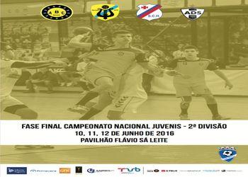 Cartaz Fase Final Campeonato Nacional Juvenis Masculinos 2ª Divisão – Braga