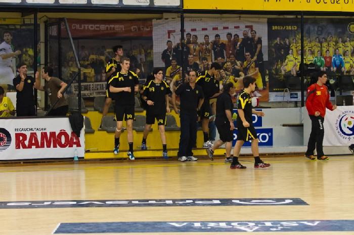 AA Águas Santas : ABC Braga Andebol Sad - Fase Final Campeonato Nacional Iniciados Masculinos 2012-13