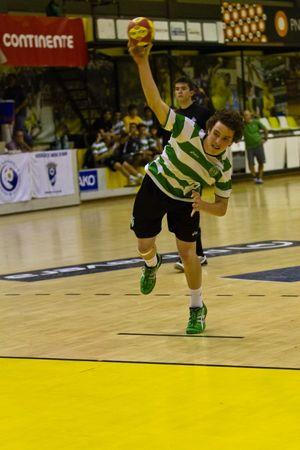 Sporting CP : AA Águas Santas - Fase Final Campeonato Nacional Iniciados Masculinos 2012-13