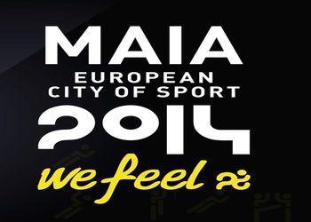 Logo Maia Cidade Europeia Desporto 2014