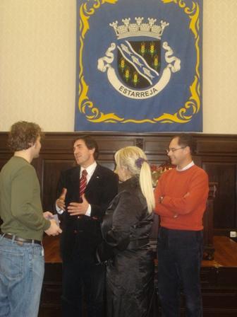 Recepção na Câmara Municipal de Estarreja