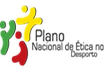 Logo Plano Nacional Ética no Desporto