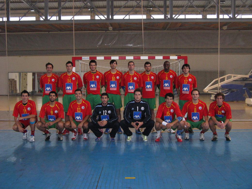 Selecção A masculina 2007/08