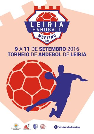 Cartaz Leiria Handball Meeting 2016