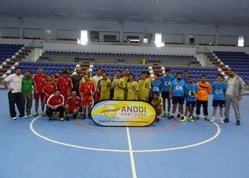 Clube Gaia - Campeão Regional do Norte em Andebol-5 da ANDDI