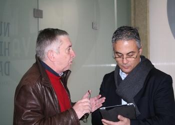 Conf.Imprensa S.João Madeira - Ulisses Pereira em diálogo com Rolando Freitas - 23.12.2013
