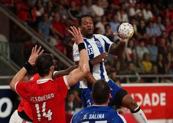 SL Benfica : FC Porto - Campeonato Andebol 1 - foto: Pedro Alves