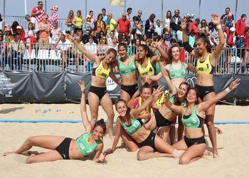 Selecção Feminina sub16 de Andebol de Praia
