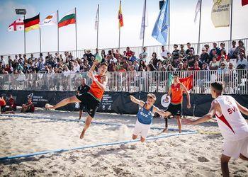 Portugal - Eslováquia - Europeu Andebol Praia Sub16 Nazaré 2016