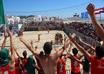 Portugal está nas meias-finais Europeu de Andebol de Praia Sub16
