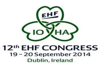 Logo 12º Congresso EHF Dublin 2014